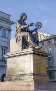 Monument to Nicholas Copernicus